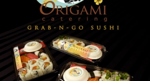 Origami Catering Display Poster