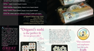 Origami Catering Expansion Brochure